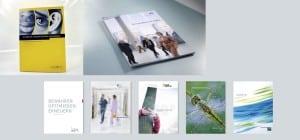 Bilder zum Design von Geschäftsberichten