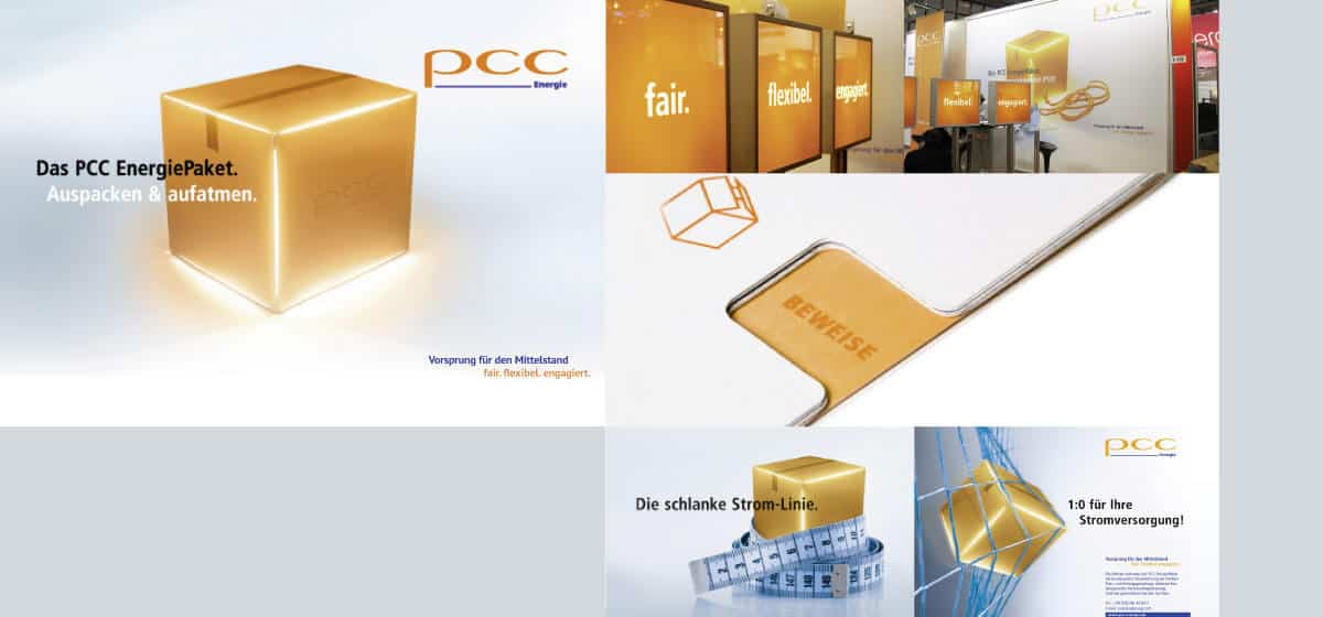 Bild PCC Markenkampagne