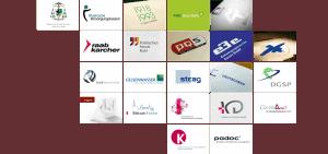 Logodesign / Bild: Übersicht aller logos