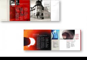 Steuler Broschüre / Seitengestaltung